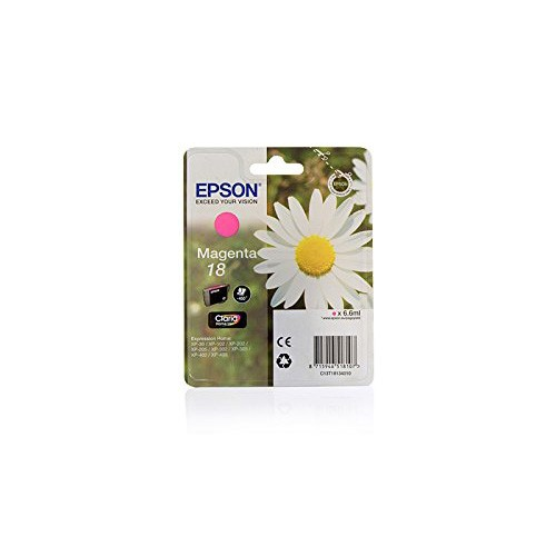EPSON T1803, 18 Daisy Magenta Claria Home Ink-180 Pages