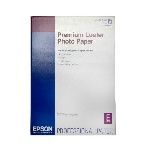 Epson A2 Premium Luster Paper 251GSM 25 Sheets