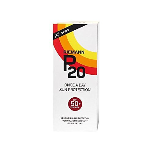 Riemann P20 Once a Day Sun Protection Cream, SPF50 200ml (Pack of 2)