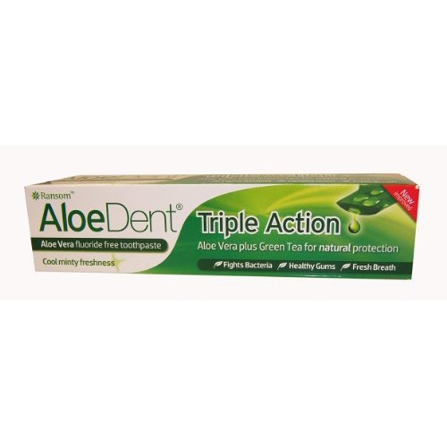 Aloe Dent Original Aloe Vera Mint Toothpaste with Co-Q-10