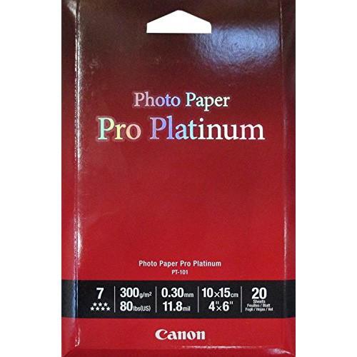 Canon PT-101 Photo Paper 10 x 15 cm 20 Sheets