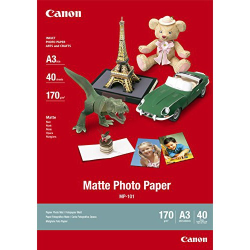 Canon Matte Photo Paper A3 7981A008 - Pack Of 40