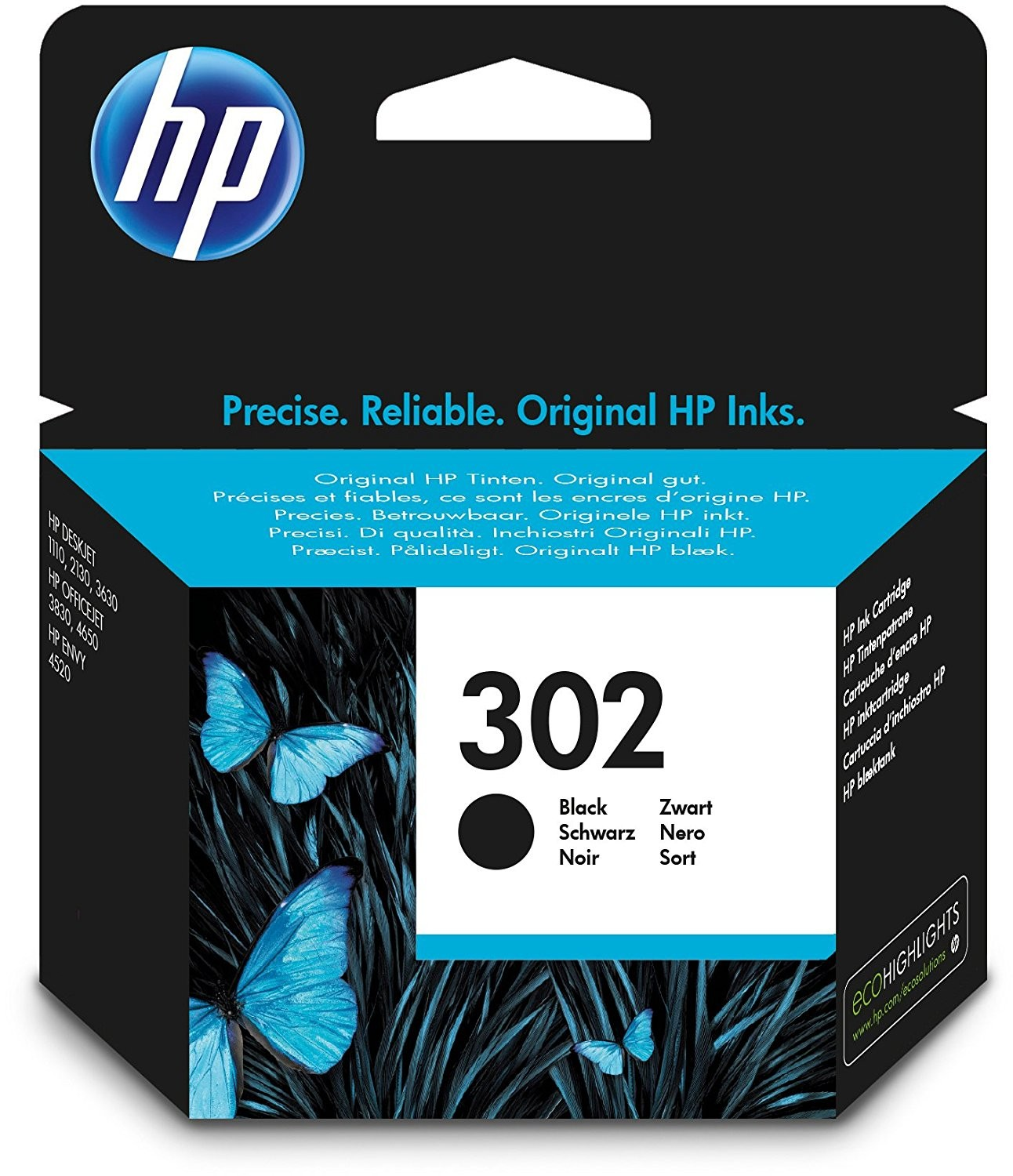 HP 302 COMBO 2-PACK