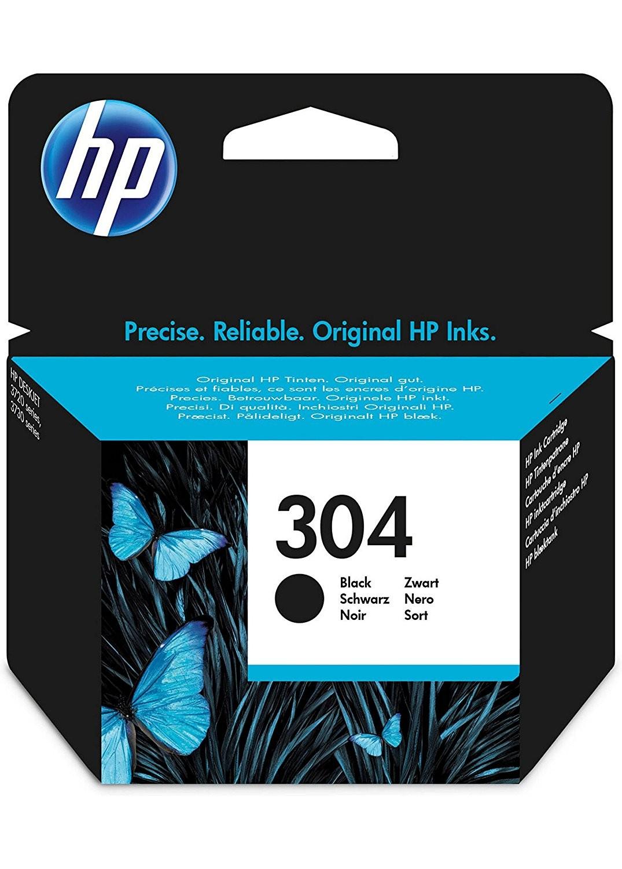 HP 304 Black Ink Cartridge N9K06AE#BGX