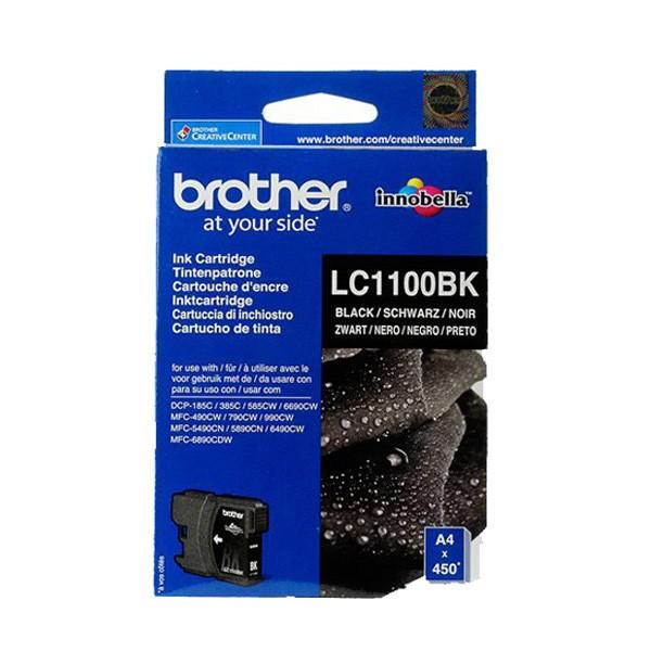 Brother LC 1100BK Black Ink Cartridges (BRLC1100BK)