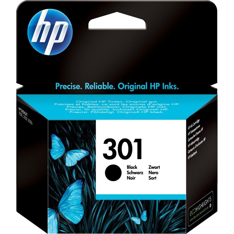 HP 301 Black Ink Cartridges - CH561EE