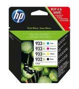 HP 932XL Black / 933XL Colour Ink Cartridges - C2P42AE