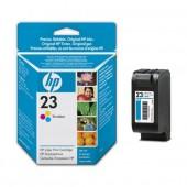 HP 23 Tri-Colour Inkjet Printer Cartridges (C1823DE, C1823D)