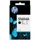 HP Black Plain Paper Print Cartridges - 51604A