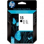 HP 15 Black Inkjet Print Cartridge  ( 55394X , C6615NE )