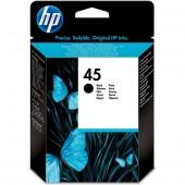 Original HP 45 Black Ink Cartridges - 51645GE