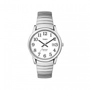 Timex women's quartz easy reader watch with dial analogue display and stainless steel bracelet women's