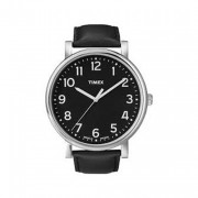 Timex Women's Quartz Easy Reader Date Watch with Dial Analogue Display and Leather Strap