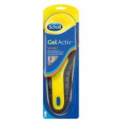 Scholl Gel Active Work Insoles for Men