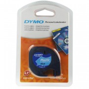 Dymo Letratag ULTRABLU Plastic tape (12MMX4M)