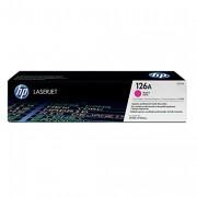 HP 126A Magenta Original LaserJet Toner Cartridge (CE313A)