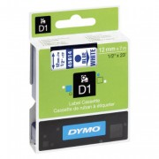 Dymo 4500 Blue/White Tape 45014/S0720540