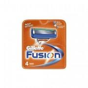 Gillette Fusion Men's Razor Blades, 4 Blades