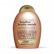 OGX BRAZILIAN KERATIN SMOOTH CONDITIONER, 385ML