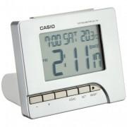 Casio Digital Silver Alarm Clock