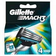 Gillette Mach3 Men's Razor Blades, 4 Blades