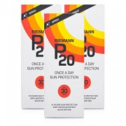 Riemann P20 Once a Day Sun Protection Cream, SPF30 200ml (Pack of 3)