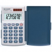 Sharp EL-243S handheld Calculator