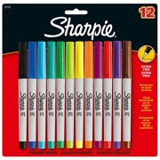 Sharpie Ultra Fine Assorted Markers -Pack of 12