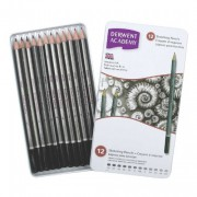 Derwent Academy Tin Pencils 2301946(Set of 12)