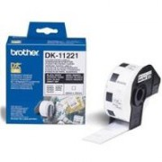 BROTHER PERM ADHESIVE SQ LABEL DK11221