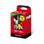 Lexmark 23&24 Combopack of black and color Ink Cartridge (LE18C1419E )