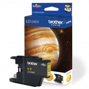 Brother LC1240Y Yellow Ink Cartridge (BRLC1240Y)