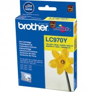 Brother LC970Y Yellow Ink Cartridge (BRLC970Y)