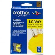 Brother LC980Y Yellow Inkjet Cartridge (BRLC980Y)