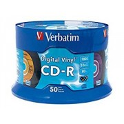 VERBATIM CD-R 80MIN 52X 43439 PK25