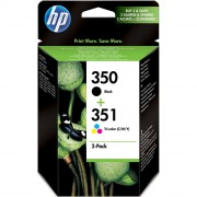 HP 350XL Black and 351XL Color ink cartridge multi pack ( CB336EE , CB338EE )
