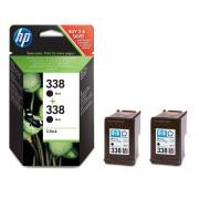 Original HP 338 2-pack Black Ink Cartridges - CB331EE