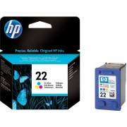 HP 22 Tri-Colour Ink Cartridges Original  - C9352AE