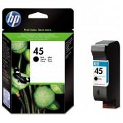 HP 45 Large Black Ink Cartridges - 51645A