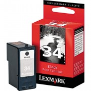 Lexmark 34 Black Ink Cartridge (18C0034 , LE18C0034 , 18C0034E)