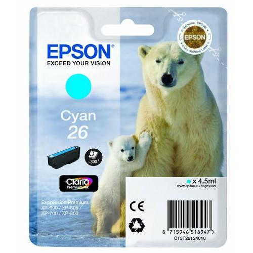 Epson 26 Cyan Ink Cartridge