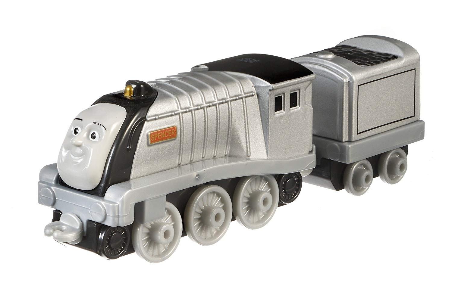 Thomas & Friends DXR69 Spencer, Thomas the Tank Engine Adventures Toy Engine, Diecast Metal Toy Train, 3 Year Old