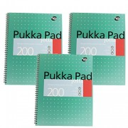 Pukka Pad Notebook Wirebound Jotta 80gsm Ruled 200 Pages A5 Ref JM021 [Pack of 3]