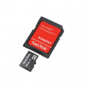 SanDisk MICROSDHC 16GB with SD ADAPTER
