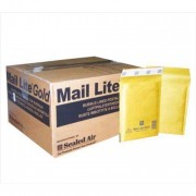 Mail-Lite Jiffy Padded Envelopes 150 x 210mm (Box of 100) - Gold