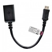 Sony EC310 MicroUSB to USB Adapter Black OTG Cable