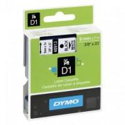 Dymo D1 Standard Labeling Tape 9x7M, Black/White