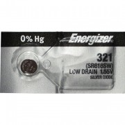 Energizer 321 SR616SW Silver Oxide Button Cell 0% Mercury Battery
