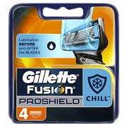 Gillette Fusion ProShield Chill Blades - 4 Pack
