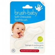 Brush-Baby Chewable Toothbrush Clear
